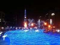 札幌のホワイトイルミネーション
