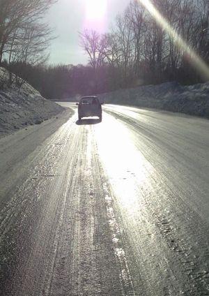 在宅勤務により凍結路面での通勤リスクを軽減