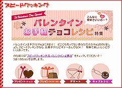 スピードクッキング:「こんなに簡単でいいの~?バレンタイン簡単チョコレシピ」特集